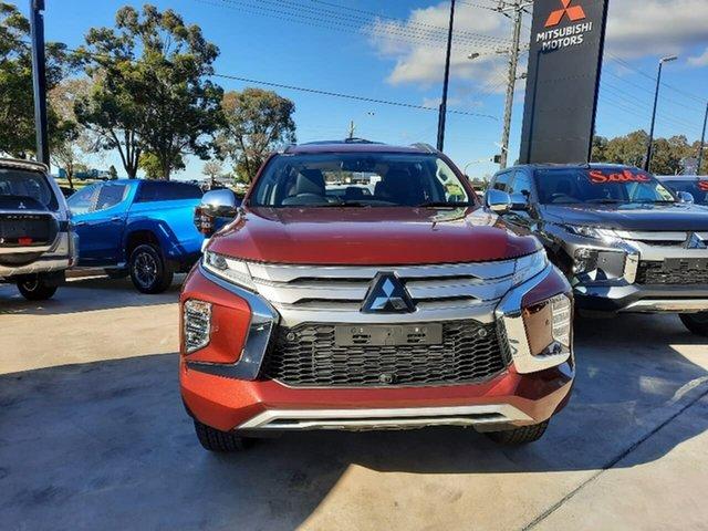 Demo Mitsubishi Pajero Sport QF MY21 GLS Liverpool, 2021 Mitsubishi Pajero Sport QF MY21 GLS Terra Rossa 8 Speed Sports Automatic Wagon