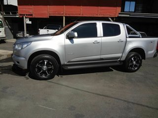 2014 Holden Colorado RG MY14 LX (4x4) Silver 6 Speed Automatic Crew Cab Pickup.