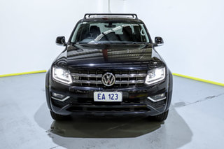2018 Volkswagen Amarok 2H MY18 TDI550 4MOTION Perm Highline Black/Grey 8 Speed Automatic Utility.