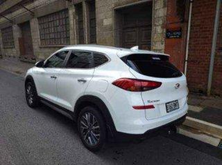 2018 Hyundai Tucson TL2 MY18 Elite 2WD Pure White 6 Speed Sports Automatic Wagon