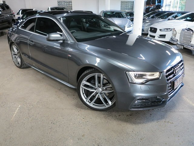 Used Audi A5 8T MY16 S Line Plus S Tronic Quattro Albion, 2016 Audi A5 8T MY16 S Line Plus S Tronic Quattro Grey 7 Speed Sports Automatic Dual Clutch Coupe