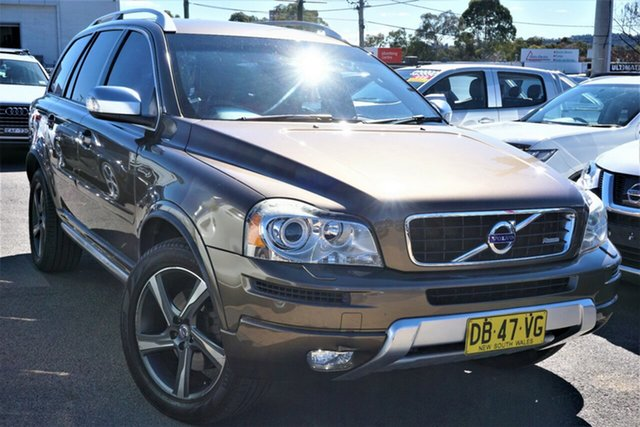 Used Volvo XC90 P28 MY13 R-Design Geartronic Phillip, 2013 Volvo XC90 P28 MY13 R-Design Geartronic Bronze 6 Speed Sports Automatic Wagon