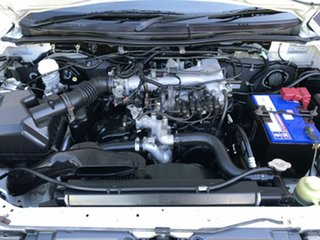 2009 Mitsubishi Triton ML MY09 GLX-R Double Cab White 4 Speed Automatic Utility
