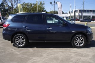 2016 Nissan Pathfinder R52 MY16 ST X-tronic 2WD Blue 1 Speed Constant Variable Wagon.