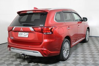 2019 Mitsubishi Outlander ZL MY19 PHEV AWD Exceed Red 1 Speed Automatic Wagon Hybrid.