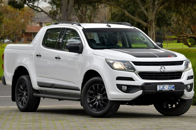 Used Holden Colorado RG MY17 Z71 Pickup Crew Cab Dandenong, 2017 Holden Colorado RG MY17 Z71 Pickup Crew Cab White 6 Speed Sports Automatic Utility