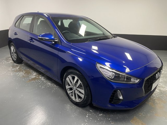 Used Hyundai i30 PD2 MY19 Active Rutherford, 2019 Hyundai i30 PD2 MY19 Active Blue 6 Speed Sports Automatic Hatchback