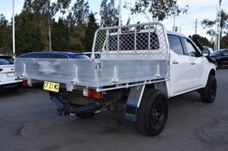 2015 Nissan Navara D23 RX White 7 Speed Sports Automatic Cab Chassis