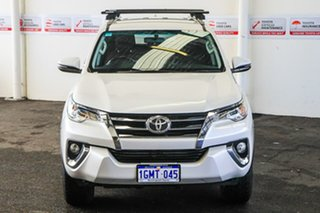 2018 Toyota Fortuner GUN156R MY18 GXL Crystal Pearl 6 Speed Automatic Wagon