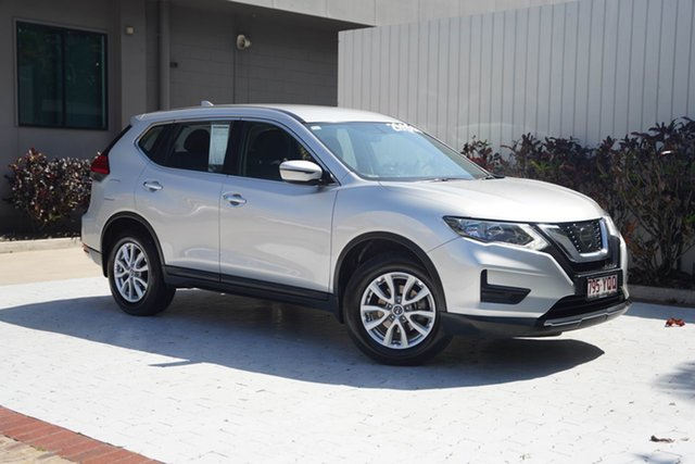 Used Nissan X-Trail T32 ST X-tronic 4WD Cairns, 2017 Nissan X-Trail T32 ST X-tronic 4WD Silver 7 Speed Constant Variable Wagon