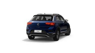 2021 Volkswagen T-ROC A1 110TSI Style Ravenna Blue 8 Speed Automatic SUV