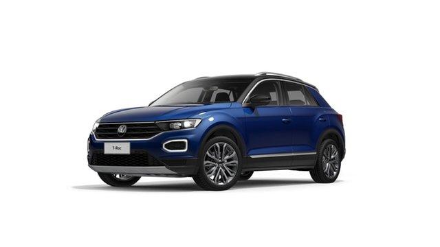 New Volkswagen T-ROC A1 110TSI Style Hamilton, 2021 Volkswagen T-ROC A1 110TSI Style Ravenna Blue 8 Speed Automatic SUV