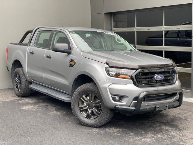 Used Ford Ranger PX MkIII 2020.75MY Sport Hobart, 2020 Ford Ranger PX MkIII 2020.75MY Sport Silver 6 Speed Sports Automatic Double Cab Pick Up