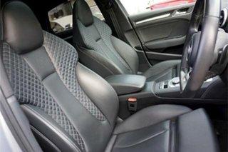 2017 Audi S3 8V MY17 S Tronic Quattro Silver 7 Speed Sports Automatic Dual Clutch Sedan