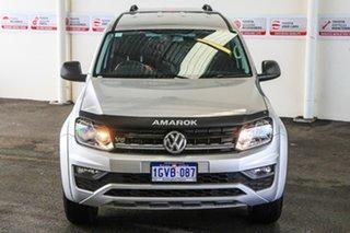 2019 Volkswagen Amarok 2H MY19 V6 TDI 550 Core Silver 8 Speed Automatic Dual Cab Utility.