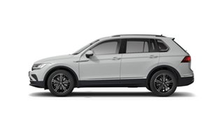 2021 Volkswagen Tiguan 5N 132TSI Life Pure White 7 Speed Semi Auto SUV.