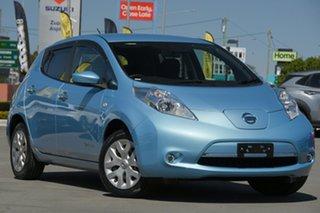 2016 Nissan Leaf ZE0 Blue 1 Speed Automatic Hatchback.