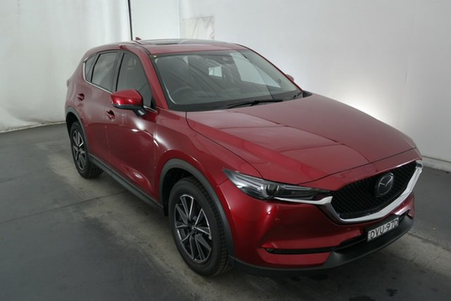 Used Mazda CX-5 KF4W2A Akera SKYACTIV-Drive i-ACTIV AWD Maryville, 2017 Mazda CX-5 KF4W2A Akera SKYACTIV-Drive i-ACTIV AWD Soul Red 6 Speed Sports Automatic Wagon