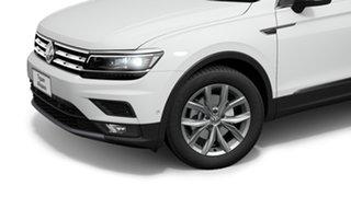 2021 Volkswagen Tiguan 5N 132TSI Comfortline Allspace Pure White 7 Speed Semi Auto SUV