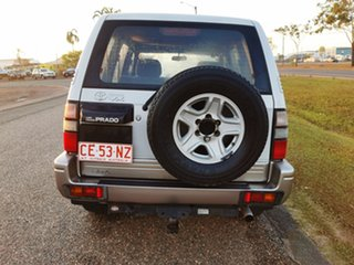 1999 Toyota Landcruiser Prado VZJ95R VX Grande White 4 Speed Automatic Wagon