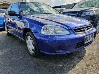 2000 Honda Civic EK CXi Blue 4 Speed Automatic Hatchback.