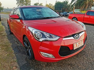 2012 Hyundai Veloster FS Coupe Red 6 Speed Manual Hatchback.