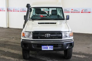 2021 Toyota Landcruiser VDJ78R Workmate Troopcarrier French Vanilla 5 Speed Manual Wagon