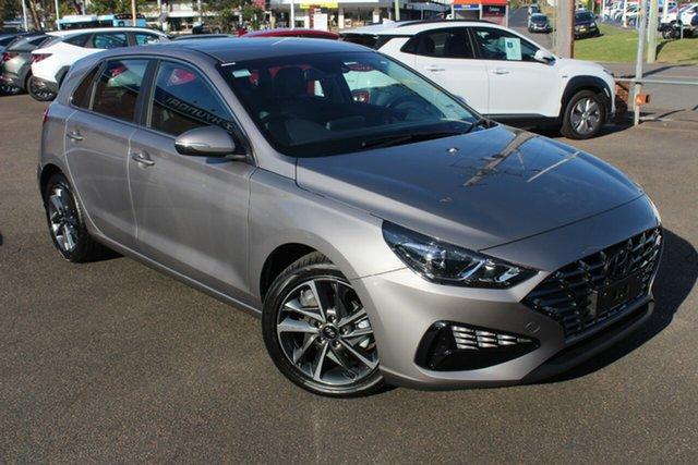 New Hyundai i30 PD.V4 MY21 Active North Gosford, 2021 Hyundai i30 PD.V4 MY21 Active Fluidic Metal 6 Speed Sports Automatic Hatchback