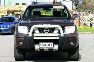 2009 Nissan Navara D40 Titanium Black 5 Speed Automatic Utility