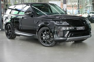 2021 Land Rover Range Rover Sport L494 22MY D250 SE Black 8 Speed Sports Automatic Wagon.