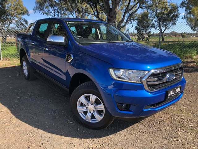 Used Ford Ranger PX MkIII 2019.00MY XLT Epsom, 2018 Ford Ranger PX MkIII 2019.00MY XLT Blue 10 Speed Sports Automatic Utility