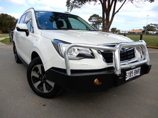 2018 Subaru Forester S4 MY18 2.5i-L CVT AWD Luxury White 6 Speed Constant Variable Wagon.