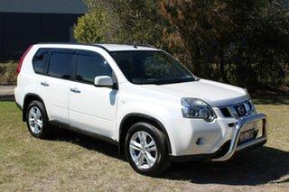 2011 Nissan X-Trail T31 Series IV TS White 6 Speed Sports Automatic Wagon.