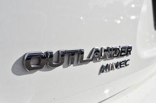 2010 Mitsubishi Outlander ZH MY11 LS 2WD White 5 Speed Manual Wagon
