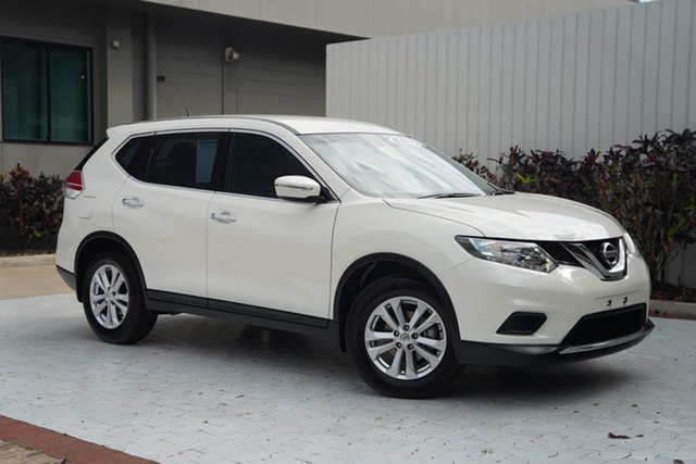 Used Nissan X-Trail T32 ST X-tronic 4WD Cairns, 2016 Nissan X-Trail T32 ST X-tronic 4WD Pearl Black 7 Speed Constant Variable Wagon
