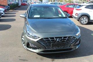 2021 Hyundai i30 PD.V4 MY21 Active Iron Grey 6 Speed Sports Automatic Hatchback.