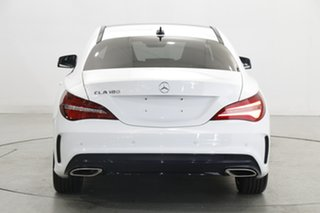 2018 Mercedes-Benz CLA-Class C117 809MY CLA180 DCT White 7 Speed Sports Automatic Dual Clutch Coupe