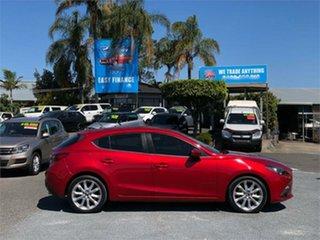 2015 Mazda 3 BM5438 SP25 Red 6 Speed Sports Automatic Hatchback
