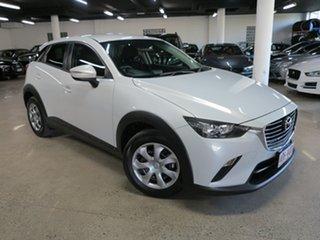 2015 Mazda CX-3 DK2W76 Neo SKYACTIV-MT Ceramic White 6 Speed Manual Wagon.