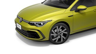 2021 Volkswagen Golf 8 110TSI R-Line Pomelo Yellow 8 Speed Automatic Hatchback