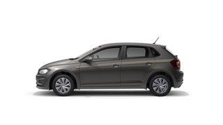 2021 Volkswagen Polo AW Trendline Limestone Grey 7 Speed Semi Auto Hatchback.