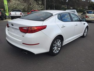 2014 Kia Optima SI White Sports Automatic Sedan.