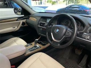 2012 BMW X3 F25 xDrive20d Grey Automatic Wagon