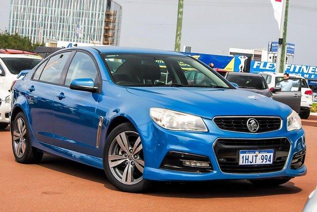 Used Holden Commodore VF MY14 SV6 Osborne Park, 2014 Holden Commodore VF MY14 SV6 Blue 6 Speed Sports Automatic Sedan
