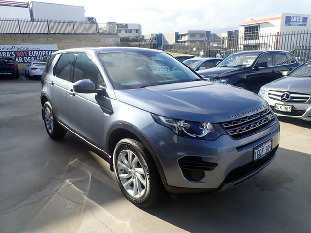 Used Land Rover Discovery Sport L550 MY18 TD4 (132kW) SE 5 Seat Wangara, 2018 Land Rover Discovery Sport L550 MY18 TD4 (132kW) SE 5 Seat Byron Blue 9 Speed Automatic Wagon