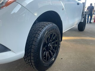 2012 Mazda BT-50 XT (4x4) White 6 Speed Manual Freestyle Cab Chassis