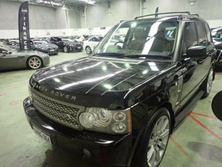 2008 Land Rover Range Rover MY08 Vogue TDV8 Black Crystal 6 Speed Auto Sequential Wagon.