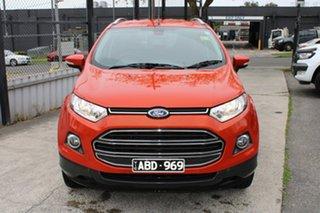 2014 Ford Ecosport BK Titanium Red 5 Speed Manual Wagon.