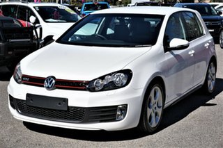 2012 Volkswagen Golf VI MY12.5 GTI DSG Candy White 6 Speed Sports Automatic Dual Clutch Hatchback