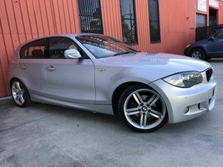 2010 BMW 120i E87 MY10 120i Silver 6 Speed Automatic Hatchback.